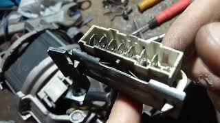 Ремонт електромотора BEKO, іскрять щітки.