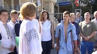 """Лучший """"урок мира"""" - рядом с бойцами в госпитале. Акция """"Подари букет солдату"""" - 1.09.16"""