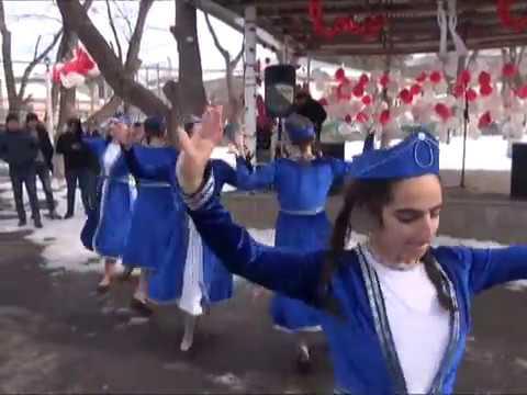 Ախալքալաքում   նշվեց   Սուրբ  Վալենտինի  տոնը