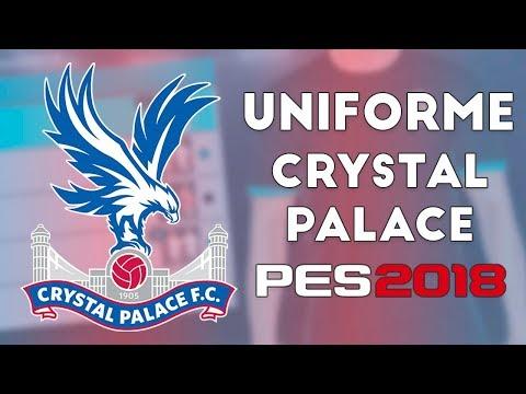 PES 2018 - Uniformes Crystal Palace (17-18)