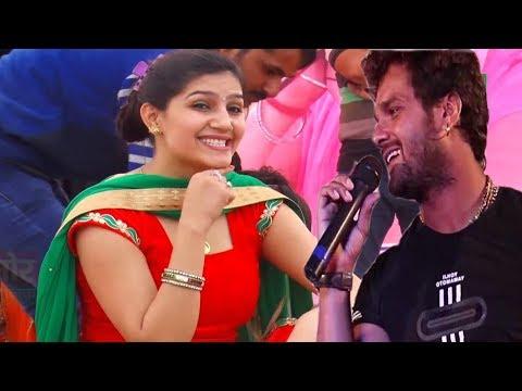 खेसारी लाल और सपना चौधरी का जबरजस्त Dance । Khesari lal Sapna Chodhary New Movie