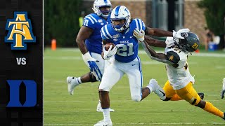 North Carolina A&T vs. Duke Football Highlights (2019)