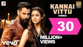 Iru Mugan - Kannai Vittu Tamil Video | Vikram, Nayanthara | Harris