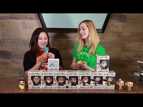 Snow White and the Seven Dwarfs Pop Unboxing