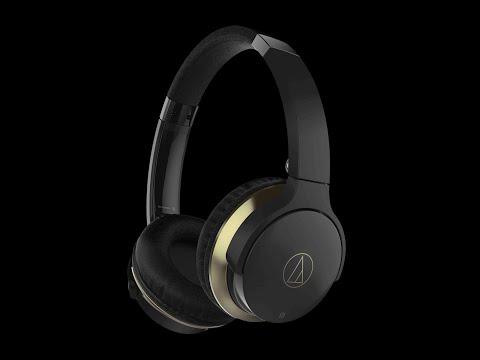 Audio Technica ATH-AR3BT Black Headphones Unboxing