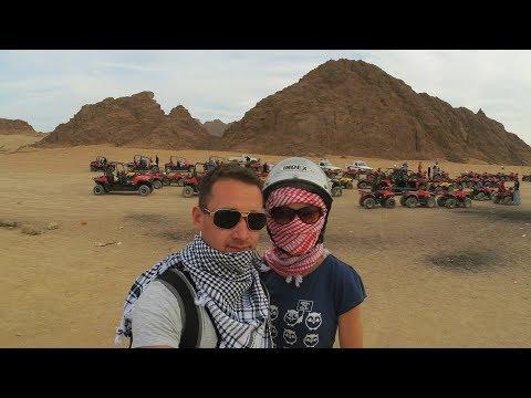 Египет. Часть 2 . Квадроциклы, египетские заброшки Continental Plaza Beach Resort Sharm El Sheikh