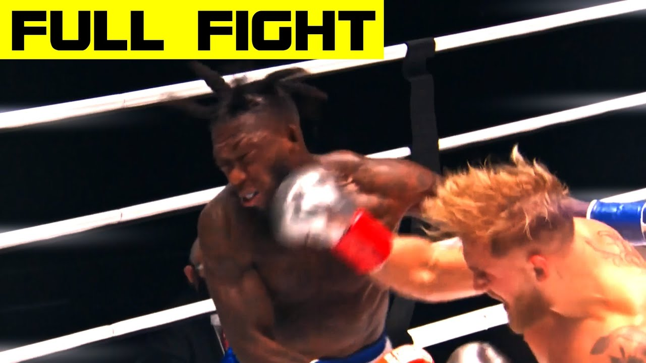 Download Jake Paul Defeats Nate Robinson Via Second-Round Knockout (FULL FIGHT)