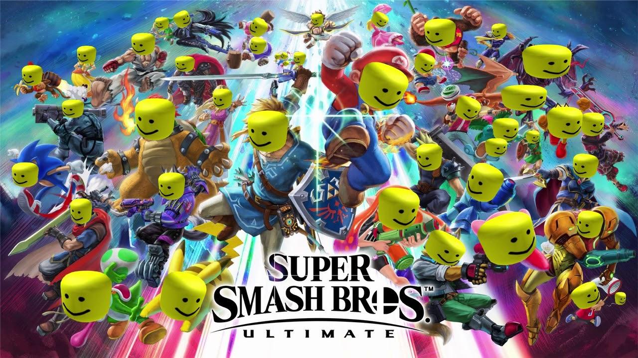 Super Smash Bros Ultimate Main Theme Lifelight Roblox Oof