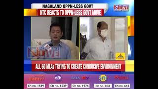 Opposition-less Nagaland Govt a political drama: NTC