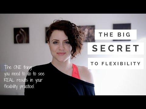 The BIG secret to FLEXIBILITY!!
