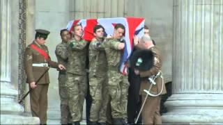 Thatcher Funeral: Practice Run Of Procession