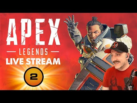 Apex Legends // Gibraltar Main // PS4 Pro // Respawn Games Titanfall BR // Live Stream Gameplay #1