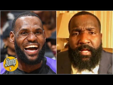Reacting to LeBron's disrespectful no-look 3-pointer vs. the Rockets | The Jump