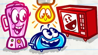 Pencilmate Gets TOTALLY TOASTED!! |Animated Cartoons Characters| Animated Short Films | Pencilmation