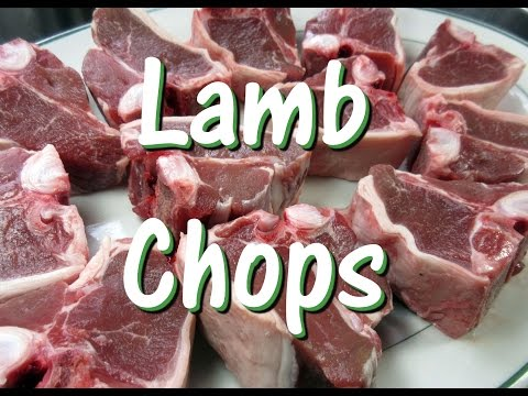Grilled Greek Lamb Loin Chops ~ Easy Lamb Chop Recipe