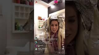 Надежда Ермакова о своей свадьбе в прямом эфире Instagram 23-12-2017