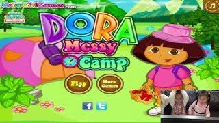 遊戲 朵拉 Nickelodeon 兒童 卡通 電動  Dora The Explorer Camping Game TOY玩具開箱就在Sunny Yummy Kids TOYs
