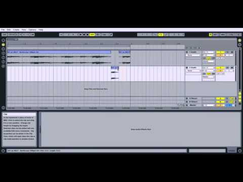 Ableton Live Tutorial - How to Duplicate & Cut Parts Of An Audio Clip