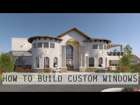 ARCHICAD: HOW TO BUILD A CUSTOM WINDOW
