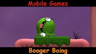 Booger Boing - Yucky Snot Gaming - Android & iOS Gameplay Game Review