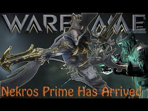Warframe - Nekros Prime Has Arrived + Drop Locations In Description!