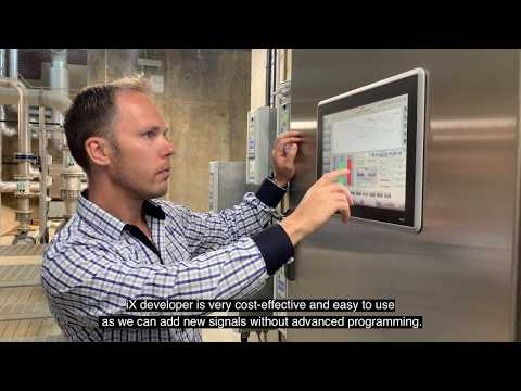 Beijer Electronics customer case: Simrishamn water treatment plant