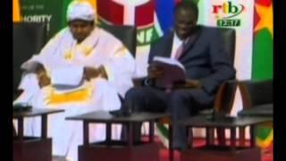 RTB/ Politique - Retour du Chef de l'Etat au Burkina Faso apre?s son se?jour a Accra