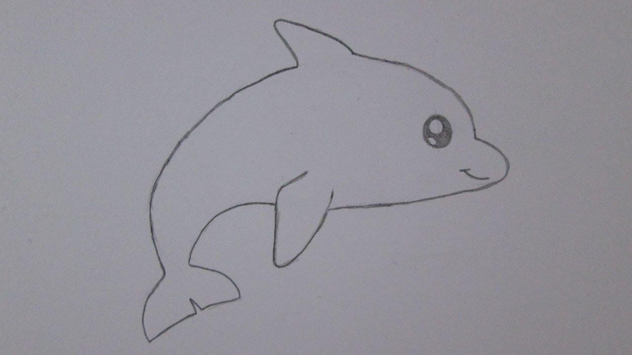 Cmo dibujar un delfn  YouTube