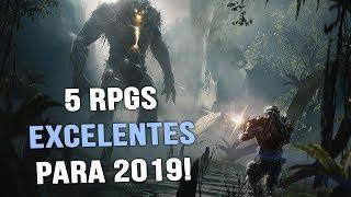 5 RPGS EXCELENTES QUE VÃO SAIR EM 2019!