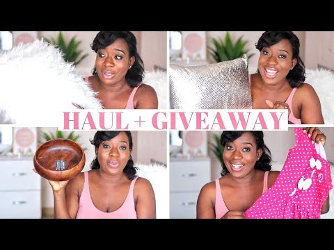 SOUTH AFRICAN HAUL & GIVEAWAY | VLOGTOBER