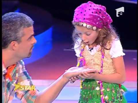 Irina Gherasim, micuța actriță de la Next Star!