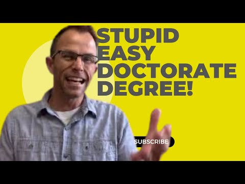 Easiest Doctoral Programs: Are There Doctoral Programs That Are Easy To Get Into?
