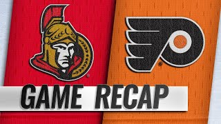 Sens rally to beat Flyers behind Tkachuk, Duchene