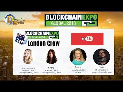 Blockchain Expo Global: U.K.'s most important Blockchain Conference