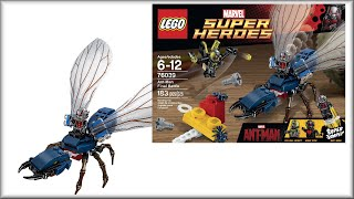 LEGO Super Heroes 76039 Человек-муравей. Обзор конструктора Лего СуперГерои. Варлорд Лего Видео(, 2015-08-27T20:40:08.000Z)