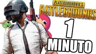 PUBG EN 1 MINUTO