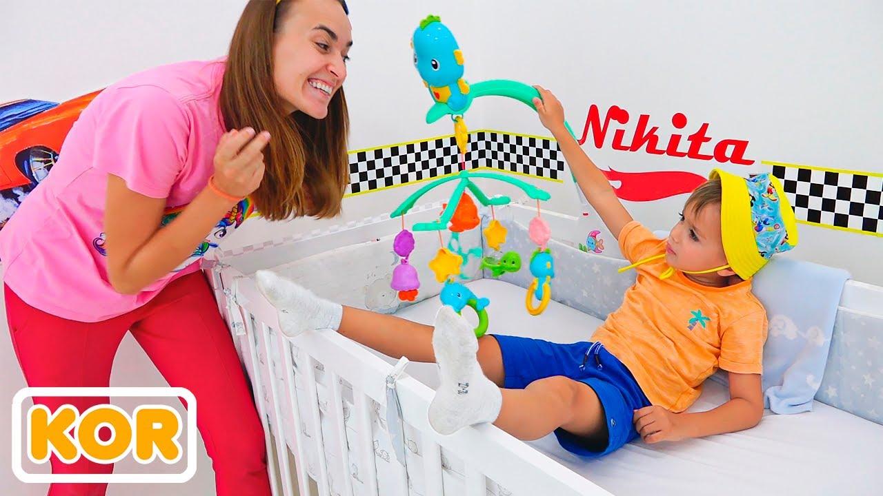 아기와 아이들을위한 더 재미있는 이야기와 같은 블라드와 니키