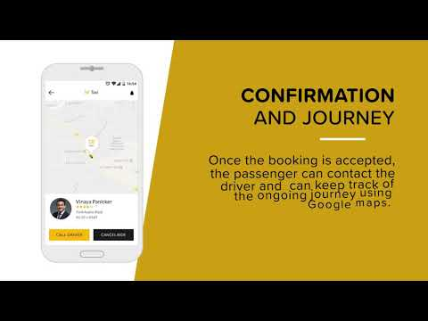 On-Demand Taxi Booking App - Take your Taxi Business Online.