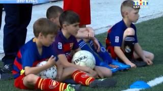 В Энгельсе прошли детские соревнования по футболу