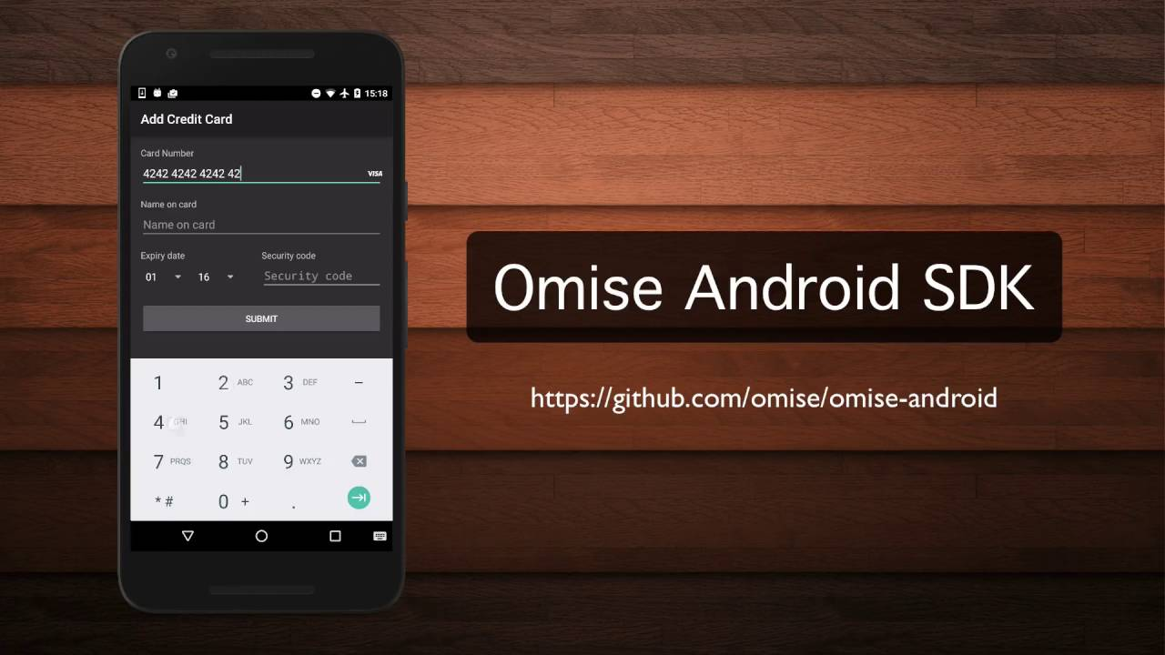 Omise android SDK