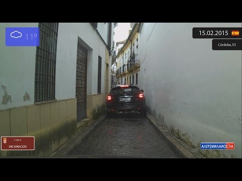 Driving through Córdoba (Spain) from Centro to Arcángel 15.02.2015 Timelapse x4