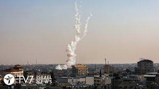 IDF strikes Hamas targets in retaliation for rocket fire - 9.12.19 TV7 Israel News