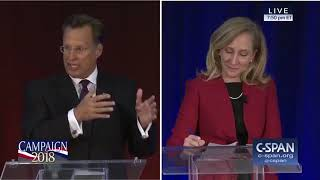 What's my name? - Dave Brat vs Abigail Spanberger debate summarized in under 3 minutes.