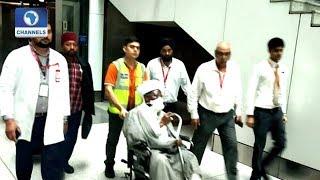 El Zakzaky, Wife Arrive India For Medical Treatment