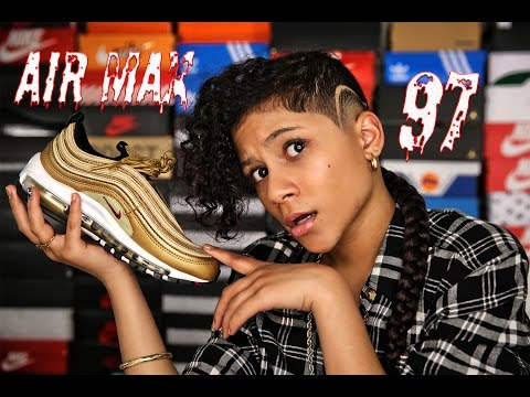 """BABY KAELY """" Sneaker Review on the AIR MAX 97 (12yr old kid rapper)"""