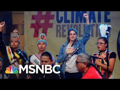 Shailene Woodley On Possibility Of Pipeline Construction | MSNBC
