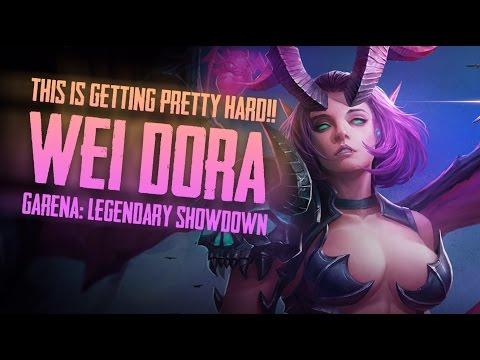 Garena Legendary Showdown: THIS IS ROUGH!! GLS [Wei Dora] Gameplay
