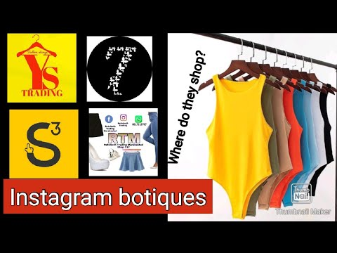 Instagram boutiques exposed🙀| where do they shop🛍️?| South African youtuber