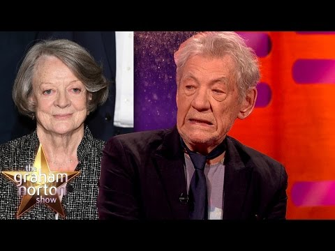 Sir Ian McKellen Does An Amazing Maggie Smith Impression  The Graham Norton