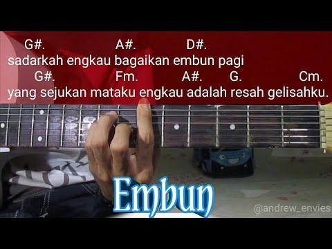 Embun - The Moon || Chord Gitar embun the moon